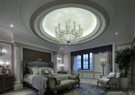 瑰丽欧式卧室吊顶美图