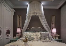 华丽欧式卧室背景墙欣赏
