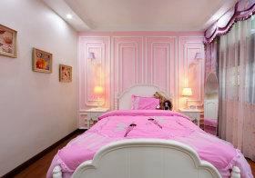 粉色北欧儿童房欣赏