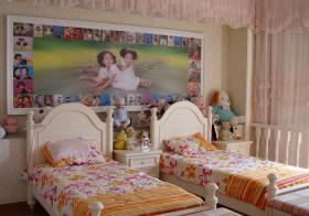 个性简欧儿童房设计
