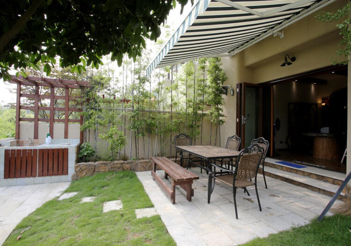 清新美式花园设计