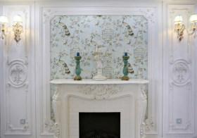 清新欧式背景墙设计