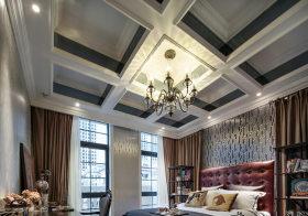 豪华欧式卧室吊顶设计