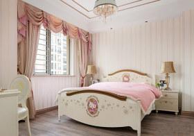 粉色可爱现代儿童房设计