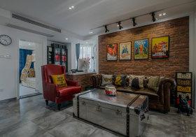 时尚现代客厅背景墙欣赏