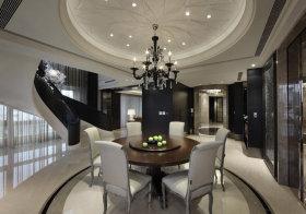 优雅现代餐厅吊顶设计
