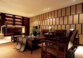中式客厅背景墙欣赏