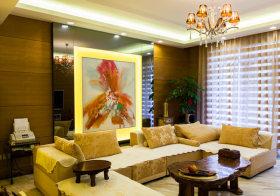 新古典沙发背景墙欣赏