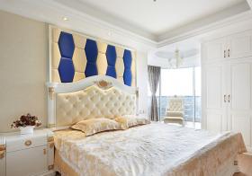 华丽欧式卧室背景墙美图