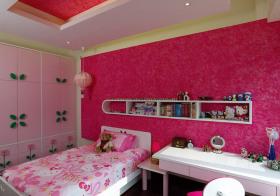 粉色梦幻儿童房欣赏
