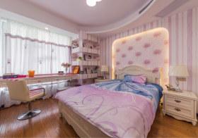 粉色时尚欧式儿童房设计