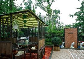 清新东南亚花园设计