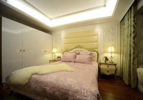 浪漫温馨欧式卧室背景墙欣赏