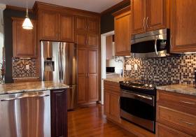 木质美式橱柜欣赏