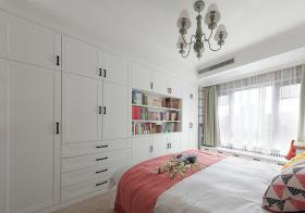 美式卧室收纳效果图