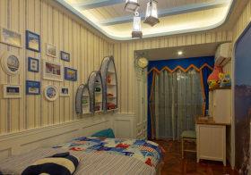 可爱个性儿童房装修设计