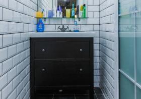 小户型简约风浴室柜