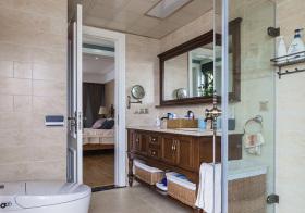 美式风浴室柜欣赏