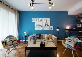 时尚混搭风格客厅装修设计