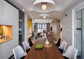 实用简约风格餐厅装修设计