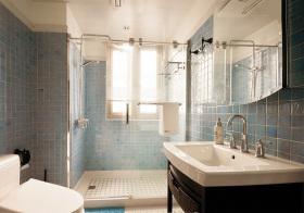 温馨地中海风格卫生间装修设计