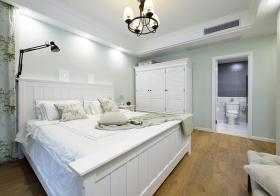 甜美田园风格卧室装修设计
