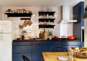 温馨宜家风格厨房装修设计