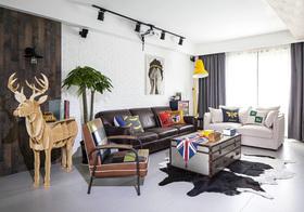 清新北欧风格客厅装修设计