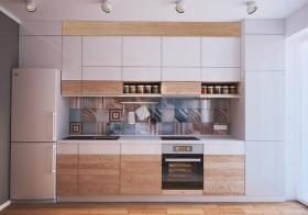 温馨宜家风格厨房装修效果图