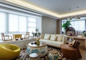 简约新中式风格客厅装修设计
