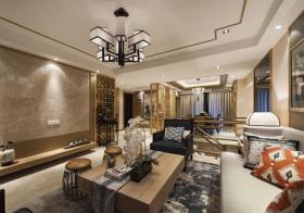 大气新中式风格客厅装修设计