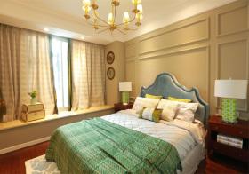 清新简欧风格卧室装修设计