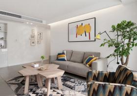 清新宜家风格客厅装修设计