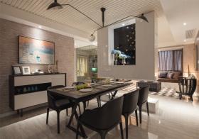 气质现代风格餐厅装修设计
