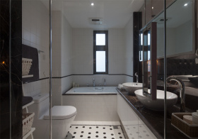 气质简约风格卫生间装修设计