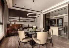 质感现代风格餐厅装修设计
