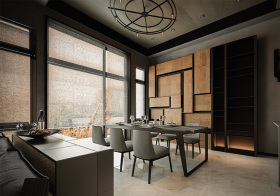 格调现代风格餐厅装修设计