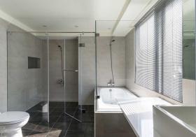 极简现代风格卫生间装修设计