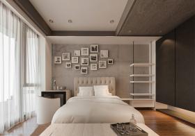 优雅简约风格卧室装修设计