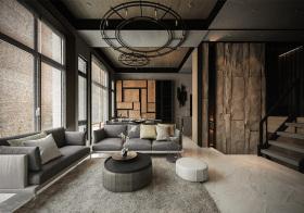 格调现代风格客厅装修设计