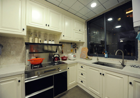 简欧风格厨房装修效果