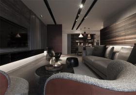 气质现代风格客厅装修设计