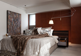气质简约风格卧室装修图片