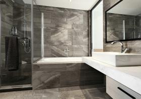 个性简约风格卫生间装修设计