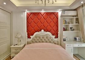 清新欧式卧室背景墙设计