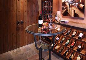 复古欧式酒柜设计美图