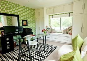 现代客厅飘窗美图
