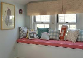 粉嫩甜美风飘窗设计