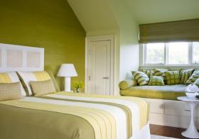卧室自然飘窗设计美图