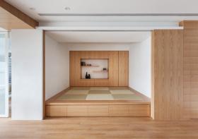 木质清新榻榻米装修美图